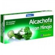 Ynsadiet complemento alimenticio alcachofa con hinojo, 20 un