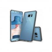 Husa Samsung Galaxy Note 7 Fan Edition Ringke FUSION SMOKE BLACK + bonus folie Ringke Invisible Screen Defender