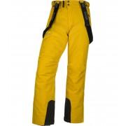 KILPI Pánské lyžařské kalhoty MIMAS-M JM0013KIYEL Žlutá M