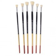 ELECTROPRIME® 6 Artists Painting Fan Brushes for Watercolour Acrylic Art Craft Paint Brush