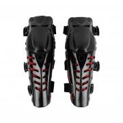Rodilleras Motocicleta Yucheer-Negro Y Rojo