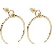 Orelia Crescent oorstekers met hanger ORE23093