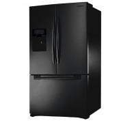 Samsung B-Ware Samsung RFG23UEBP dreitüriger Kühl-Gefrierschrank, schwarz