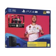 Consola Sony PlayStation 4 PRO 1TB + joc FIFA20 + Voucher FUTpoints + Voucher PlayStation Plus 14 zile