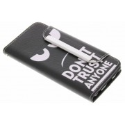 Don't trust anyone design TPU Wallet Case voor de iPod Touch 5g / 6