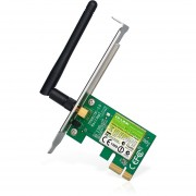 Tarjeta De Red PCI Express 1x Tp-Link TL-WN781ND 150 Mbps Inalambrica-Verde