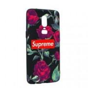 Husa de protectie Supreme Rose pentru OnePlus 6 Silicon B262