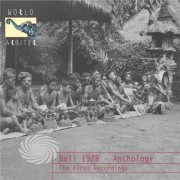 Video Delta Various Artist - Bali 1928 - Anthology: The First Recordings - CD