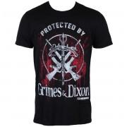 tricou cu tematică de film bărbați The Walking Dead - Grimes & Dixon - INDIEGO - Indie0313