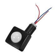 120 Security PIR Infrared Motion Sensor LED Light Detector Outdoor Wall Mounted