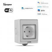 Inteligentná wifi vode-odolná zásuvka IP55 PS-16