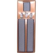 Homeshopeez Y- Back Suspenders for Men, Boys, Girls, Women(Blue, White)