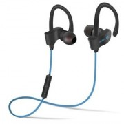 Fleejost QC-10 Wireless Sports Bluetooth Headset With Mic Sweatproof Earbuds Best For Running Gym Noise Cancellat