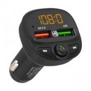 FM трансмитер за кола Tellur B7, Bluetooth 5.0, QC3.0 USB, TLL622051