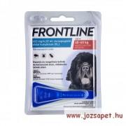 3db Frontline Spot On XL kullancs, bolha ellen közepes (40kg feletti) kutya számára