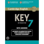 Cambridge English Key 7 Student's Book Pack (Student's Book with Answers and Audio CD): Authentic Examination Papers from Cambridge English Language A, Paperback