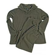 MIL-TEC Spodní prádlo se zipem THERMOFLEECE - OLIV