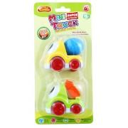 Plastové auto pre bábätká-2ks