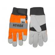 Schnittschutz Handschuhe Größe M / 9 - Forsthandschuh für Motorsäge / Kettensäge