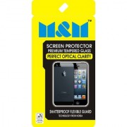 M&M Tempered Glass for Micromax VDEO 4 Screen protector for Micromax VDEO 4