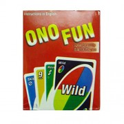 Art Bundle ONO Junior Playing Fun Card Game | Best Quality ONO Playing Flash Cards for Kids Party Table Fun Games
