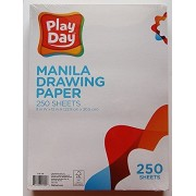 Play Day Manila Drawing Paper 3 Packs Of 250 Sheets Per Pack Bundle 9 X 12 Inches
