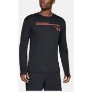 Under Armour UA Microthread Graphic - maglia a manica lunga - uomo - Black