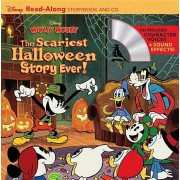 Disney Mickey Mouse: The Scariest Halloween Story Ever! Read-Along Storybook and CD, Paperback