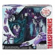 Transformers Robots in Disguise Mini Con Deployers Decepticon Fracture and Airazor B1977