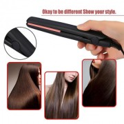Mini Portable SALON STYLE Electronic Hair Straightener 2 Types Travel Straightening Hairstyling Tool 100-240v EU plug