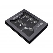 FadeCase Nyckelring Silver Collection (6st)