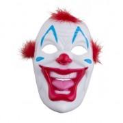 Merkloos Enge clowns masker van plastic