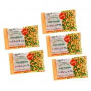 国産冷凍ミックスベジタブル 250g×5袋 計1.25kg【QVC】40代・50代レディースファッション