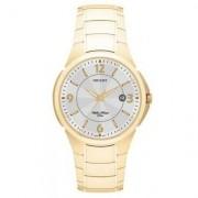 Relógio Orient Masculino Analofico - Unissex-Dourado