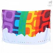 CA-RIO-CA Rio Pride Canga Beach Towel CRC-C101500