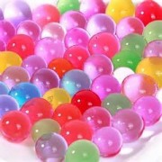 JellyBeadZ Brand - New Larger Size - Same Great Price- Water Beads - Over The Rainbow Mix, 18 Ounce for Orbeez Spa Refill, Sensory Toys and Dcor, Weddings, Parties, and Filling Swimming Pools
