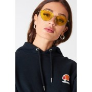 NA-KD Urban Metal Frame Cat Eye Sunglasses - Solglasögon - Yellow