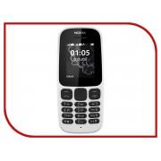 Сотовый телефон Nokia 105 (2017) White