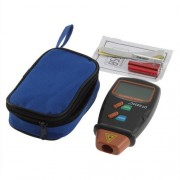 Digitális fordulatszámmérő lézeres méréssel LCD fordulatszám mérő