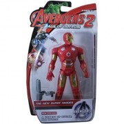 Avengers Iron Man Hero Smart Figure With Flash Light 20 cms Hand and Leg Movable