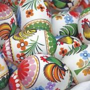 Lunchservet 33x33 pakje 20 st., Folky Easter