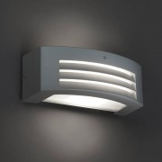QAZQA Wall Lamp Hurricane I Light Grey