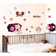 TipTop Wall Stickers Dazed Doll Transparent