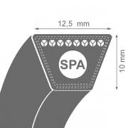 Curea de transmisie trapezoidala SPA 12.5(13)x10x2932 Lw / 2950 La