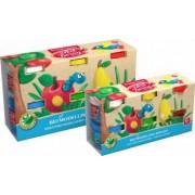 Plastilina BIO cu aloe vera culori asortate ErichKrause 6 x 35 gr Multicolor