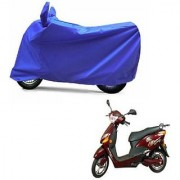Intenzo Premium Full Blue Two Wheeler Cover for Hero Electric Optima Plus