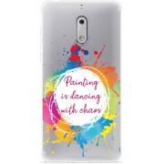 Nokia 6 Hoesje Painting
