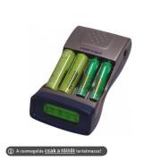 MW6678 4 csatornás akkumulátor töltő
