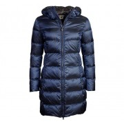 Colmar Ladies Long Down Jacket Dam, 42, Navy