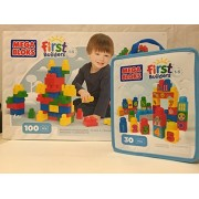 Mega Bloks First Builders 100- Count and First Builders 1-2-3 Count